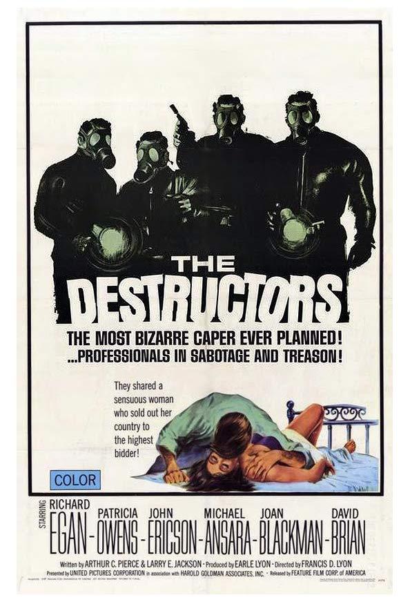 The Destructors kapak