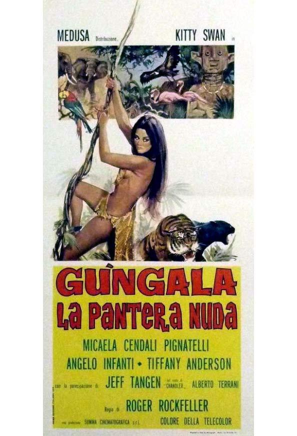 Gungala, the Black Panther Girl kapak