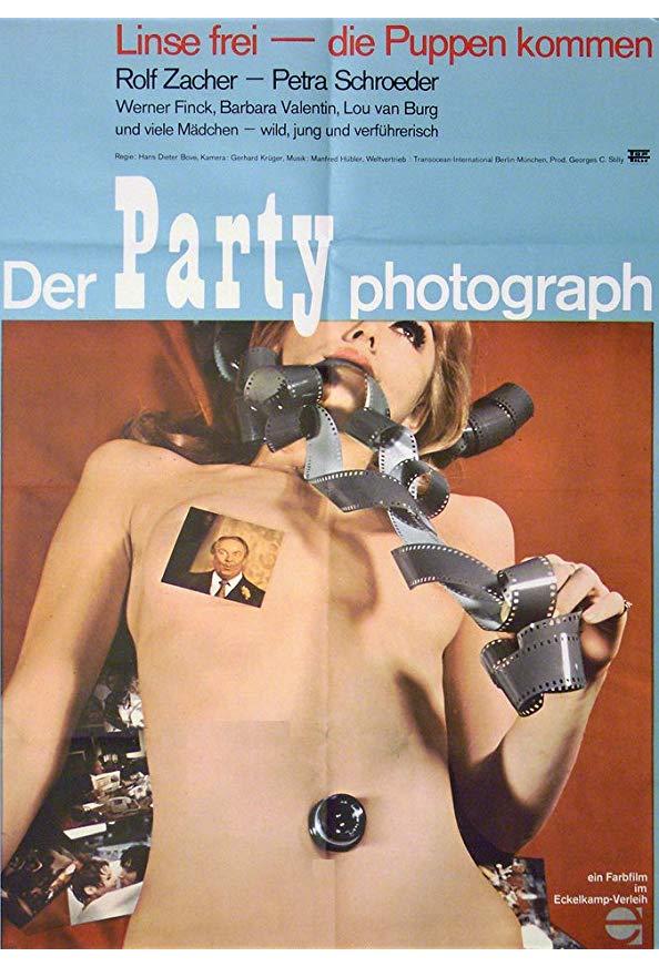 Der Partyphotograph kapak
