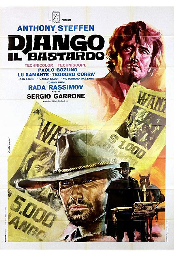 Django the Bastard kapak