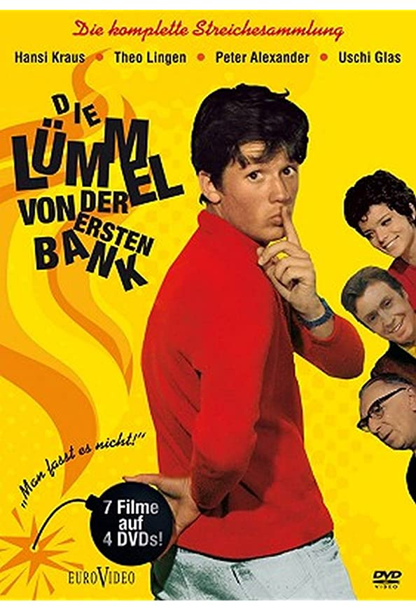 Pepe, der Paukerschreck - Die Lümmel von der ersten Bank, III. Teil kapak