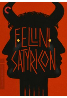 Fellini - Satyricon kapak