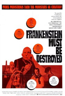 Frankenstein Must Be Destroyed kapak