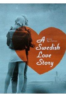 En kärlekshistoria kapak