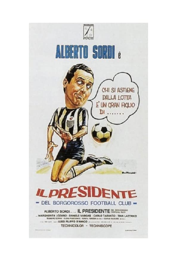 Il presidente del Borgorosso Football Club kapak
