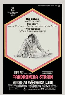 The Andromeda Strain kapak
