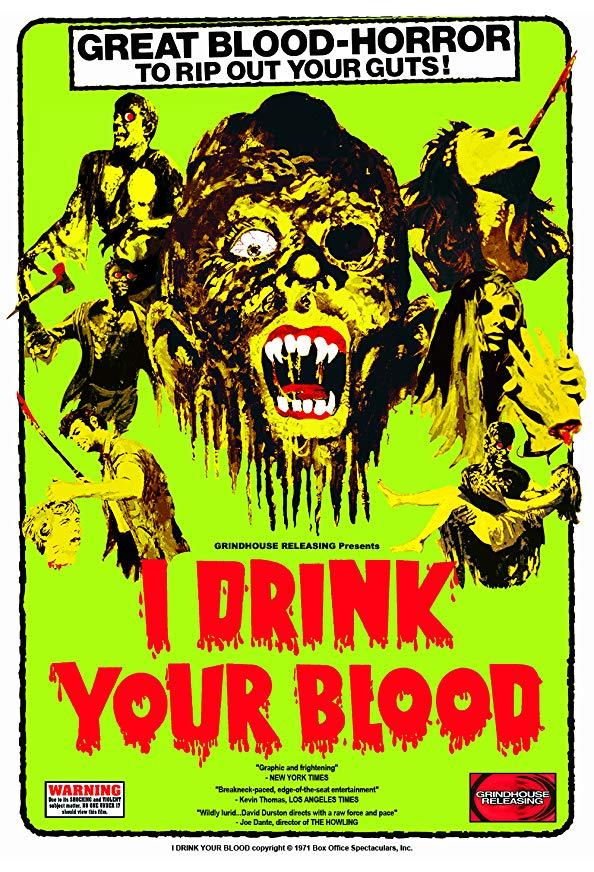 I Drink Your Blood kapak