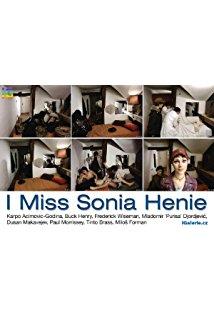 I Miss Sonia Henie kapak