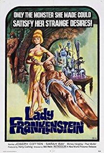Lady Frankenstein kapak