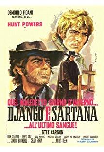 One Damned Day at Dawn... Django Meets Sartana! kapak