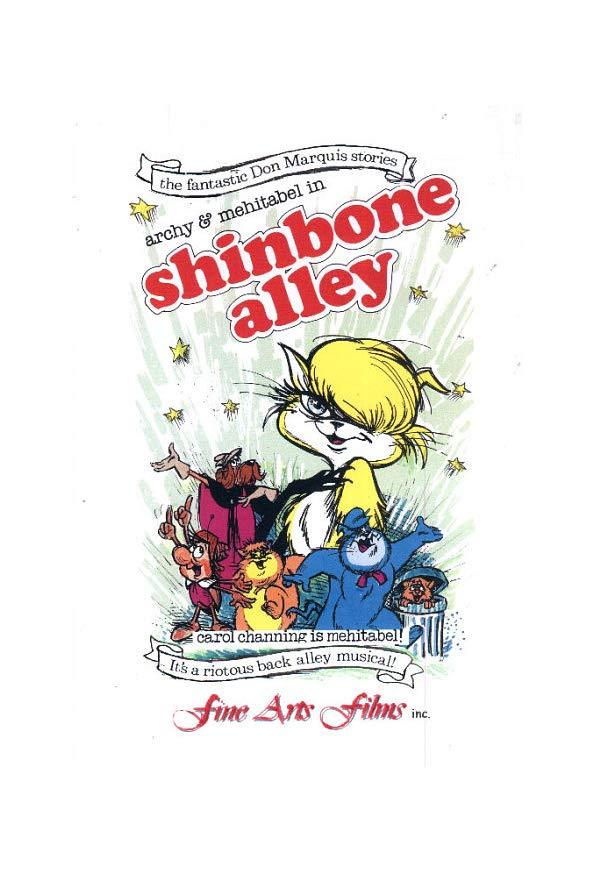 Shinbone Alley kapak