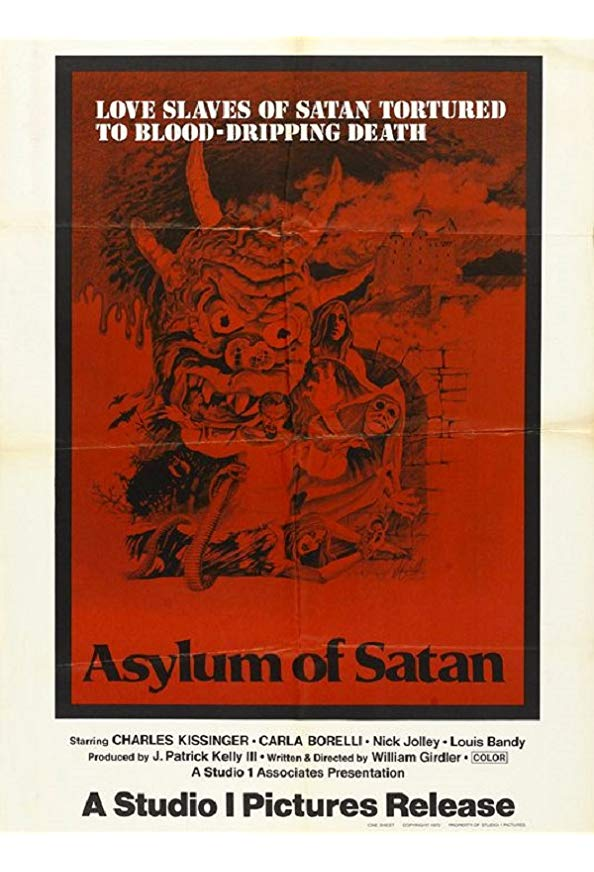 Asylum of Satan kapak