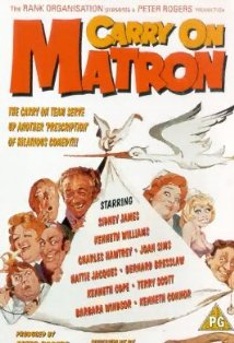 Carry on Matron kapak