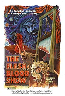 The Flesh and Blood Show kapak