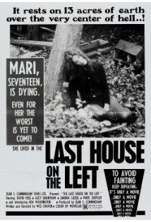 The Last House on the Left kapak