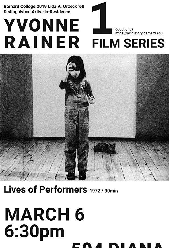 Lives of Performers kapak