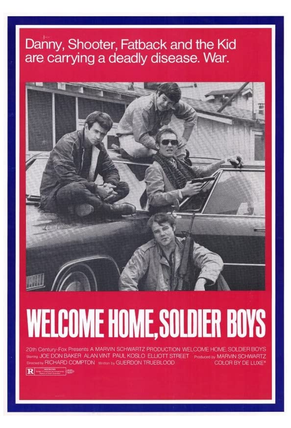Welcome Home Soldier Boys kapak