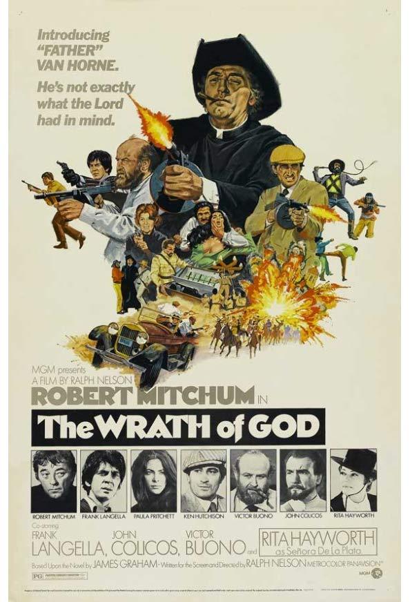 The Wrath of God kapak
