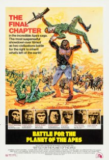 Battle for the Planet of the Apes kapak