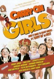 Carry on Girls kapak