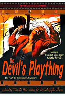 The Devil's Plaything kapak