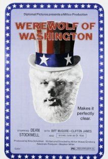 The Werewolf of Washington kapak