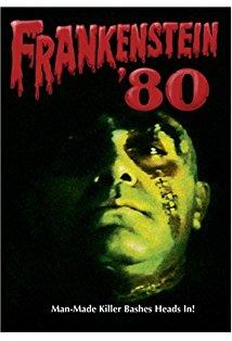 Frankenstein '80 kapak