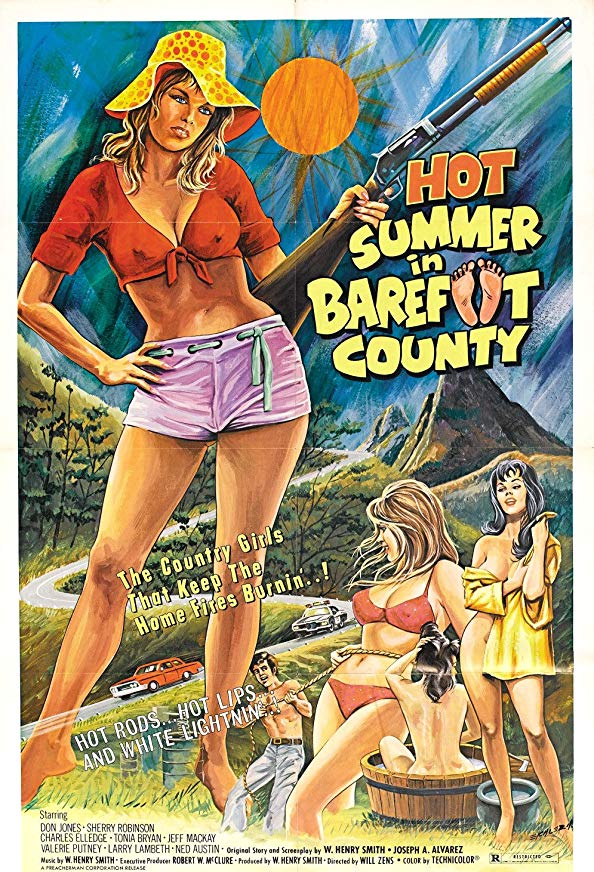 Hot Summer in Barefoot County kapak