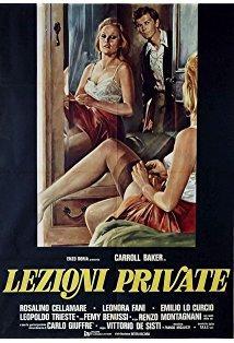 The Private Lesson kapak