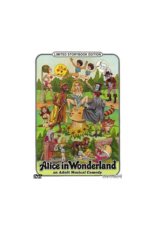 Alice in Wonderland: An X-Rated Musical Fantasy kapak