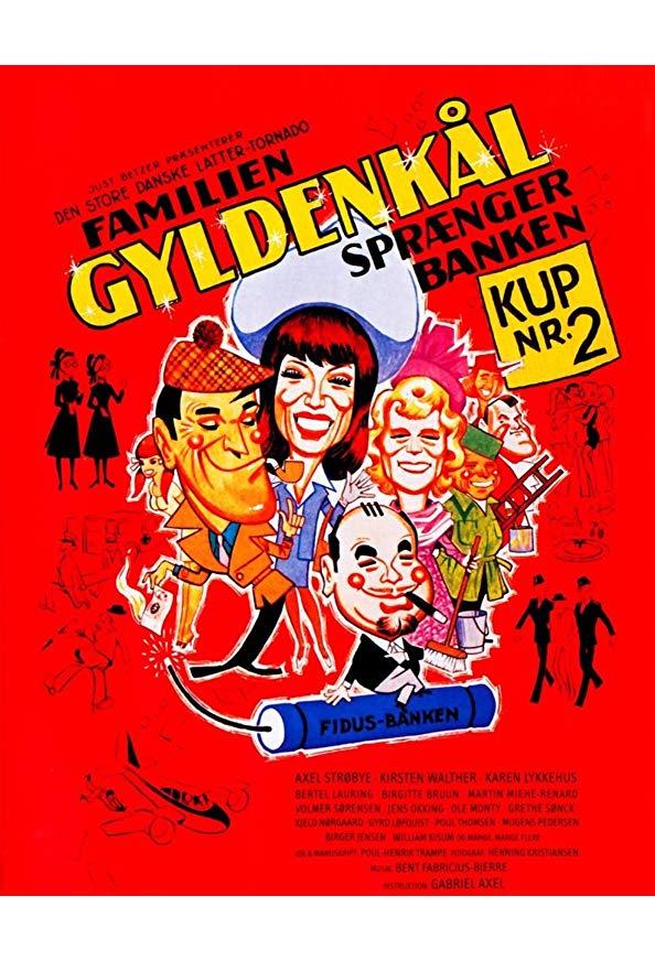 The Goldcabbage Family Breaks the Bank kapak