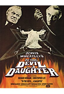 To the Devil a Daughter kapak