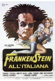 Frankenstein all'italiana kapak