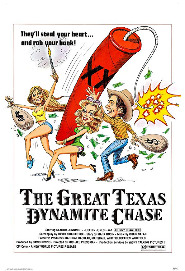 The Great Texas Dynamite Chase kapak