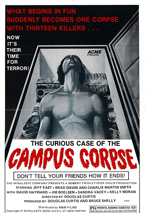 The Curious Case of the Campus Corpse kapak