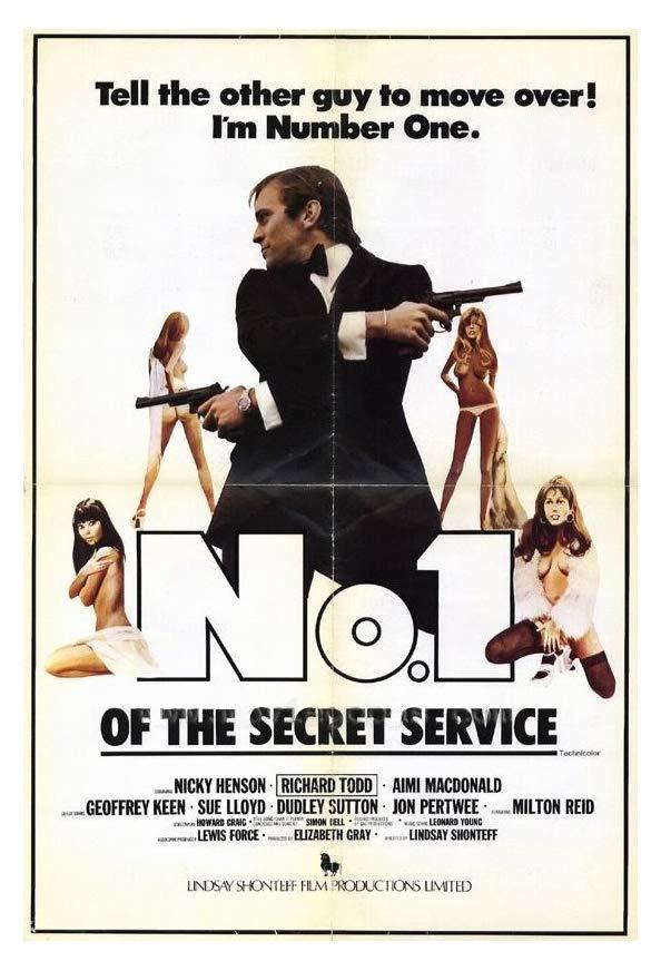 No. 1 of the Secret Service kapak