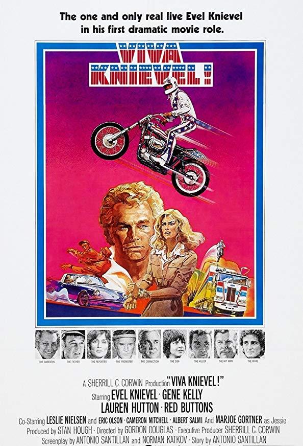Viva Knievel! kapak