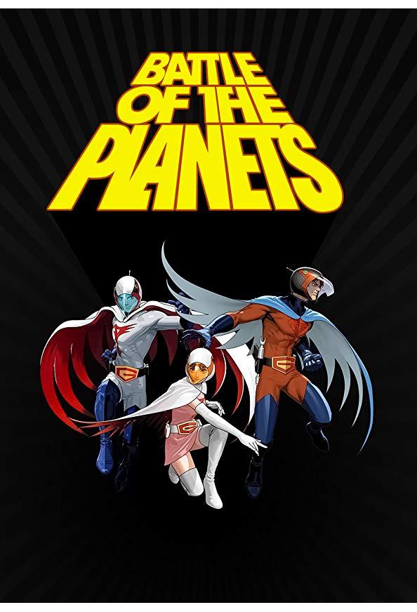 Battle of the Planets kapak