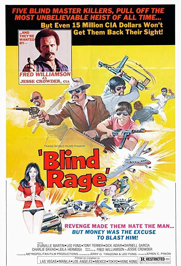 Blind Rage kapak