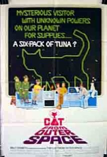 The Cat from Outer Space kapak