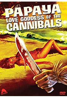 Papaya: Love Goddess of the Cannibals kapak