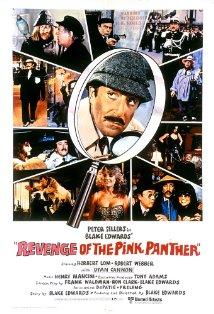 Revenge of the Pink Panther kapak