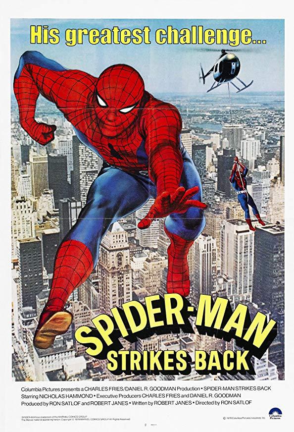 Spider-Man Strikes Back kapak