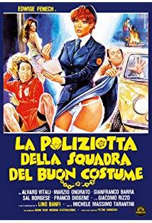 A Policewoman on the Porno Squad kapak