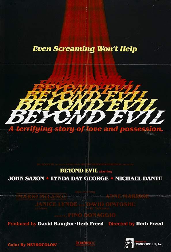 Beyond Evil kapak