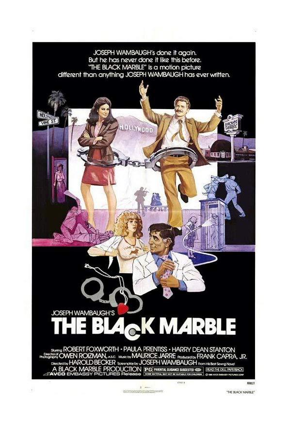 The Black Marble kapak