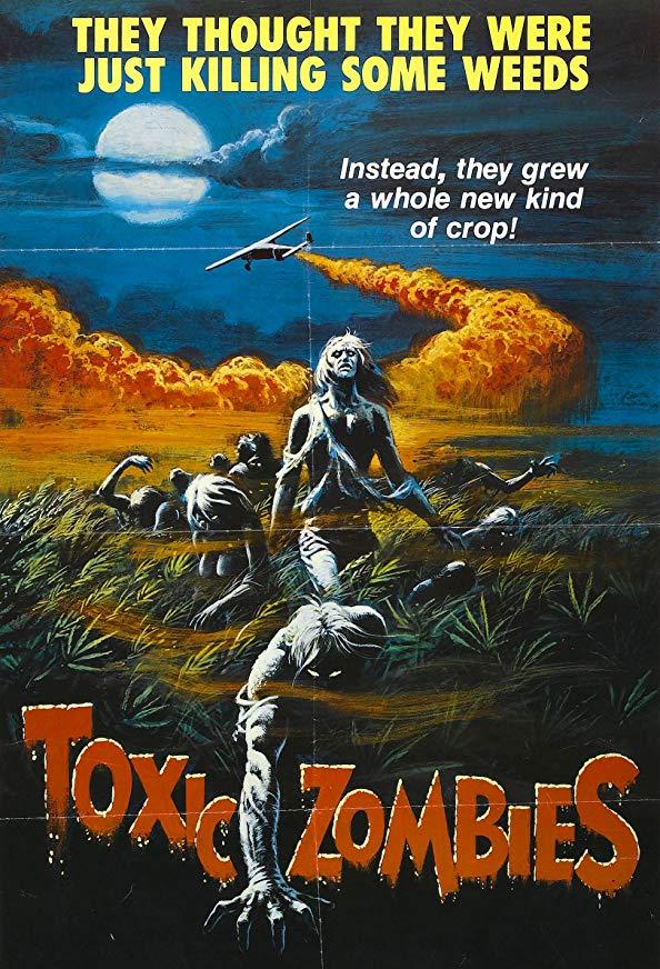Toxic Zombies kapak