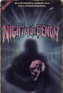 Night of the Demon kapak