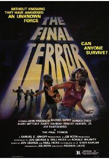 The Final Terror kapak
