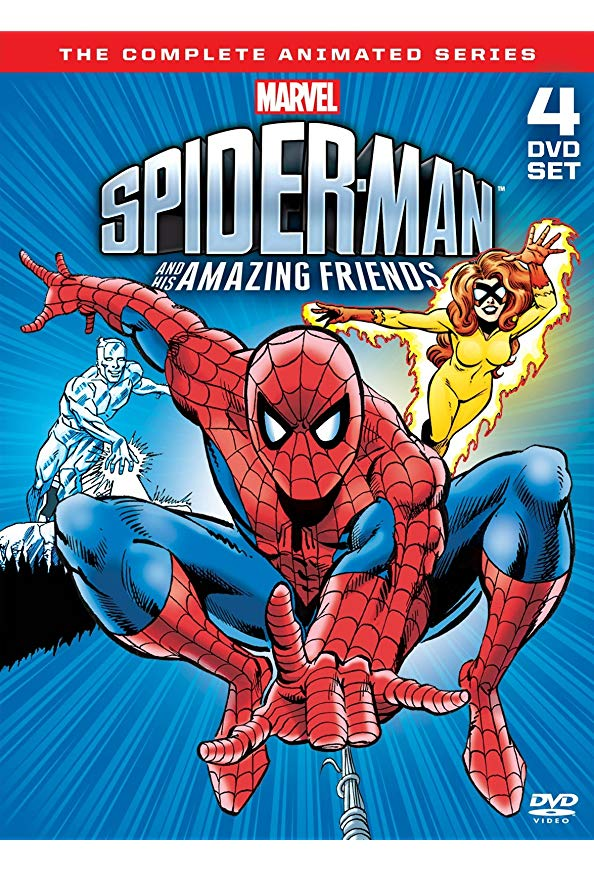 Spider-Man and His Amazing Friends kapak